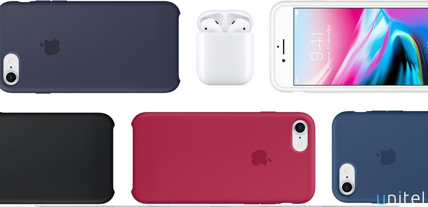Аксессуары для iphone 8 в магазине Юнител